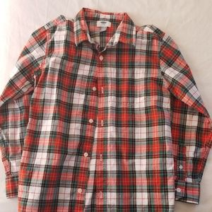 Old Navy boys button up shirt